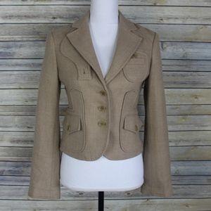 BCBGMaxAzria Wool Riding Jacket